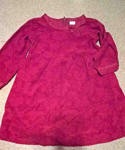 Soft curduroy style dress in size 3
