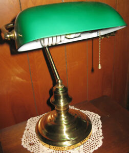 Classic Style Banker's Lamp