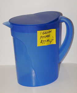 Tupperware Impressions Large 3.75 litre /1 Gallon Pitcher (New)