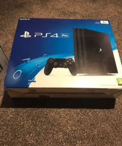 400$ BRAND NEW SEALED PLAYSTATION 4 PRO 1TB