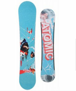Atomic pivot snowboard with avalanche summit bindings $400