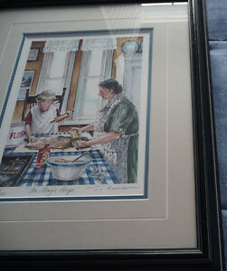 "Framed Ltd Edition Print - Trisha Romance - ""The Magic Recipe"""