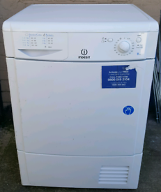 Indesit 8kg condenser tumble dryer, fully working