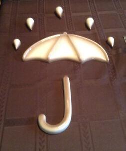 Parapluie décoratif en céramique