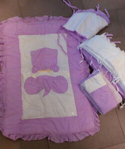 Ensemble Literie Basinette - Lilac - Crib Bedding Set