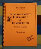 Introduction to literature & composition - English 603-1B1