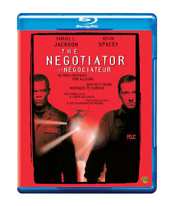 Negotiator-Blu-Ray-Great condition-Samuel  Jackson + bonus DVD