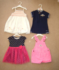 Girls Dresses, Summer Items - 24m size 2, 3 / Shoes sz 5 to 7