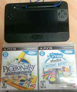 Sony Ps3 u draw tablet with 2 games