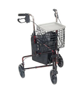 3 Wheeled walker with basket - Never used