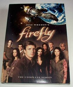 Rare FIREFLY THE COMPLETE SERIES 4 DVD SET Canada coffret