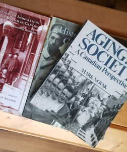 Immigration, Anthropology, Aging, Canadian History Textbooks
