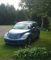 2007 Chrysler PT Cruiser, with winter tires and new mvi
