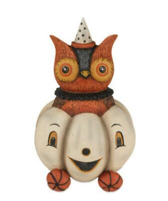 Owlbert Owl Pumpkin Carriage Halloween Johanna Parker Bethany Lowe