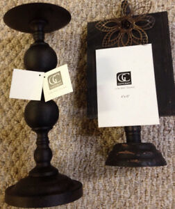 Gift Craft Candle Stand & Picture Holder