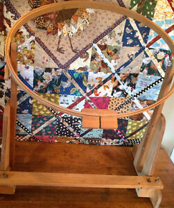 HAND QUILT frame - quilt while sitting watching TV