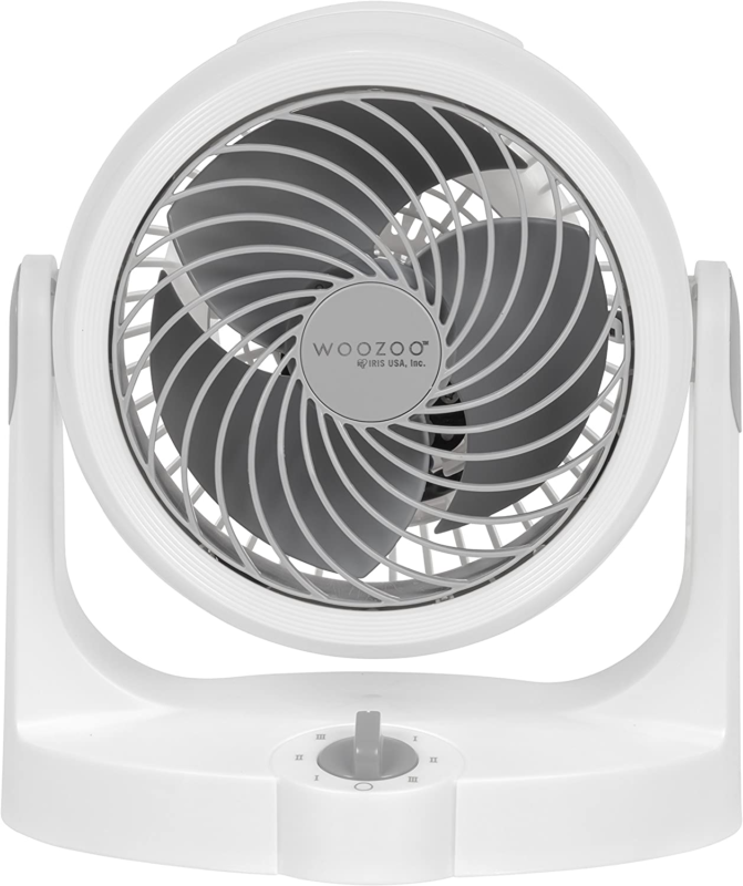 "Woozoo Circulator Fan, Blade 5.5"", White 586797 HD15NU"