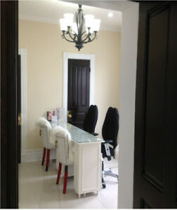 Commercial Room for Rent in a Beauty Spa, Kitchener Downtown