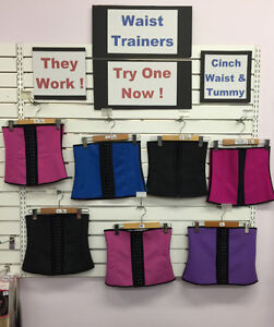 WAIST TRAINERS / TUMMY CINCHERS  - IN STOCK  HERE IN ST. JOHNS