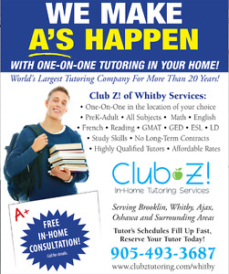 ONE-ON-ONE TUTORING -TEST PREP (SAT, ACT, GED, CAAT, GMAT)