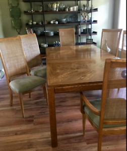 Harvest dining  table and chairs