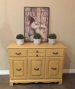 Gorgeous Chalk Painted Cabinet
