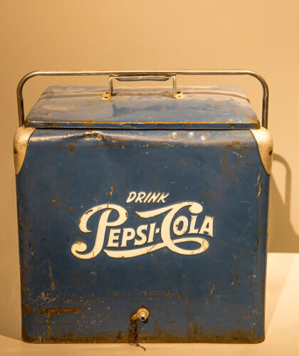 Vintage Pepsi Ice Cooler | 1950s | Great Collector