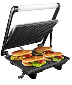 Brand New Panini Press Grill | Sandwich Maker | Non-stick Plates