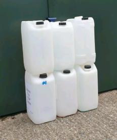 25L/5.5 Gallon Detergent Container Storage Bottles