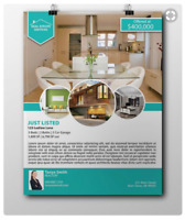 Looking for a designer to do real estate flyers and news letters