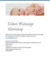Parent-infant massage