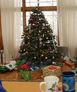 Artifical 7 foot Christmas tree for sale