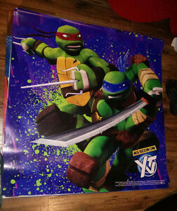 TMNT poster. Huge. 48inch X 48inch