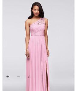 2 Davids Bridal dresses (size 10 & 14)