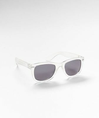 Baby Wayfarers (GAP Baby / Toddler Boys / Girls Wayfarer Retro Clear Sunglasses - 100%)