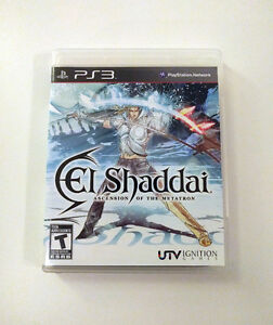 El Shaddai Ascension of the Metatron PS3