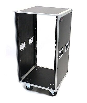 20 Space Deluxe ATA Studio Rack Case w/Wheels
