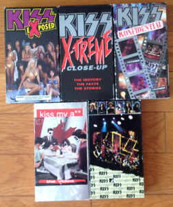 KISS VHS tapes