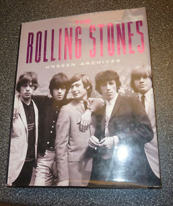 Hardcover: The Rollings Stones Unseen Archives Kitchener / Waterloo Kitchener Area image 1