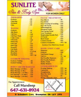 BBeauty Services Waxing, Threading@Reasonable rate in brampton