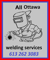 Solid welding services.