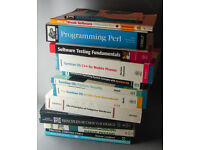 13(old) IT/Engineering/programming/computer books