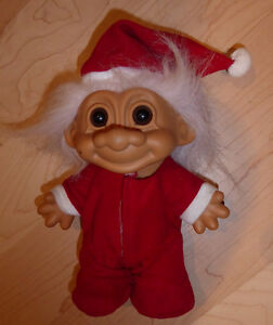 Vintage Russ TROLL DOLL Christmas PJs Kitchener / Waterloo Kitchener Area image 1