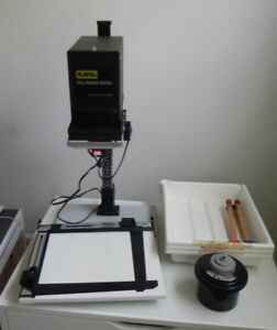 Black & White Photograph Printing darkroom equipment
