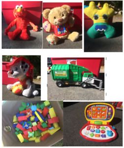 TOYS - Some free, variety of prices.  Some like-new condition.