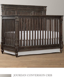 Restoration Hardware Crib, Change table/dresser, and Nightstand