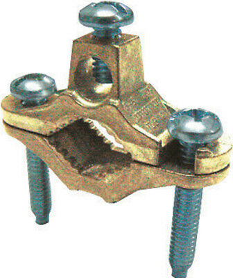 Sigma 12 In. Bronze Ground Rod Clamp 1 Pk