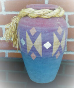 Grand vase en argile / Large Clay Vase