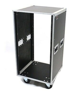 OSP 20 Space ATA-style Amp or Effects Studio Rack Case with 4
