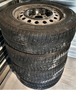 "Michelin 16"" Winter tires & Rims $299"